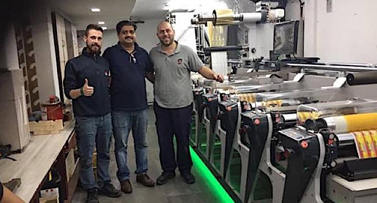 Insight Graphics installs India's first Omet iFlex label press