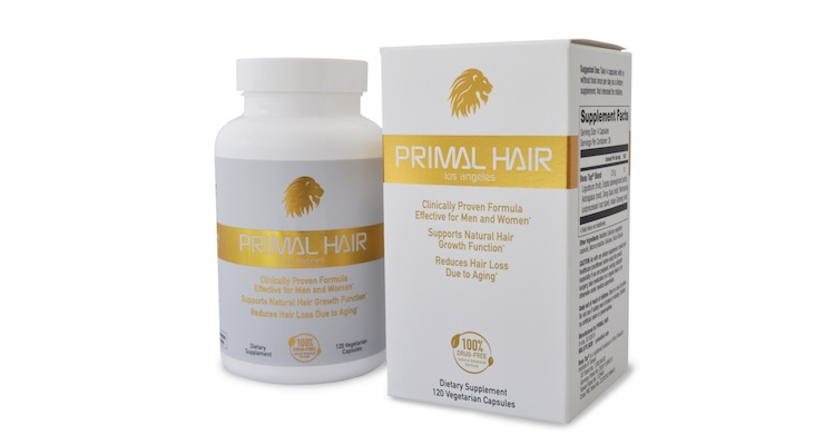 Primal Hair Says Its Anti-Aging Ingestibles Reverse Hair Loss