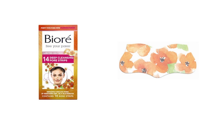 Biore Pore Strips' New Poppy Print for Spring