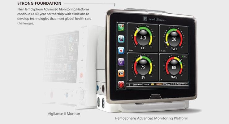FDA Clears Edwards' Advanced Hemodynamic Monitoring Platform