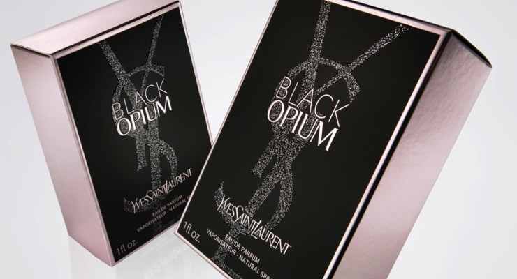 YSL's Black Opium, Cartons by Edelmann