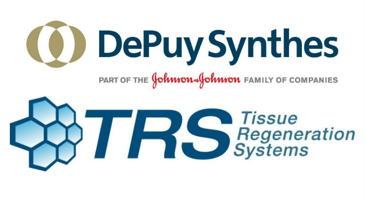 DePuy Synthes Acquires Tissue Regeneration System's 3D Printing Technologies