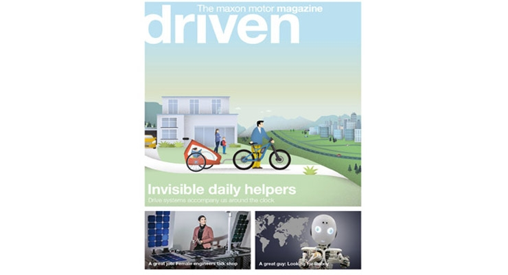 Electric drives – invisible helpers in our everyday lives.
