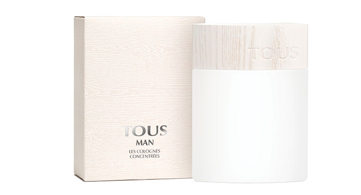 Pujolasos used sustainable ash wood to manufacture the cap  for Les Colognes Concentrées of Tous Perfumes.