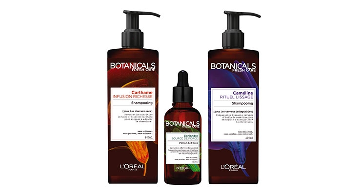L'Oréal's new Botanicals Fresh Care premium hair care range embodies environmental responsibility, from its formula ingredients to its 100% recycled packaging.