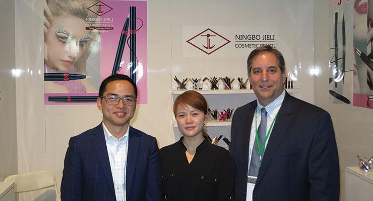 MakeUp in LA: Ningbo Jieli (L-R): David Zhang, Vivian Liu, Robert Tognetti