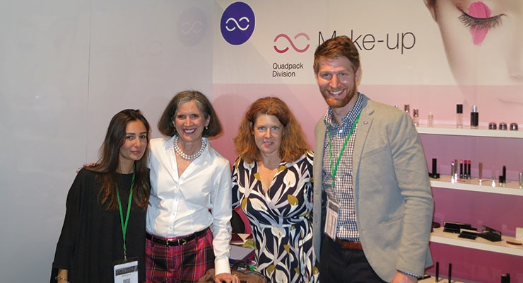 MakeUp in LA: Quadpack(L-R): Sonia Cerato, Eileen McCardle, Christin Cupo, Robert McDermott