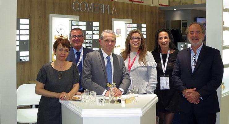Cosmopack Review: Coverpla: (L-R): Michele Bernabeu, Jacques Jourlait, Henry Crelier, Gilda Cutri, Sonia Kesraoui, Bruno Diepois