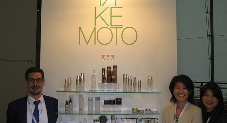 Cosmopack Review: Takemoto (L-R): Iain Tilbrook, Etsuko Takemoto, Atsko Fukada