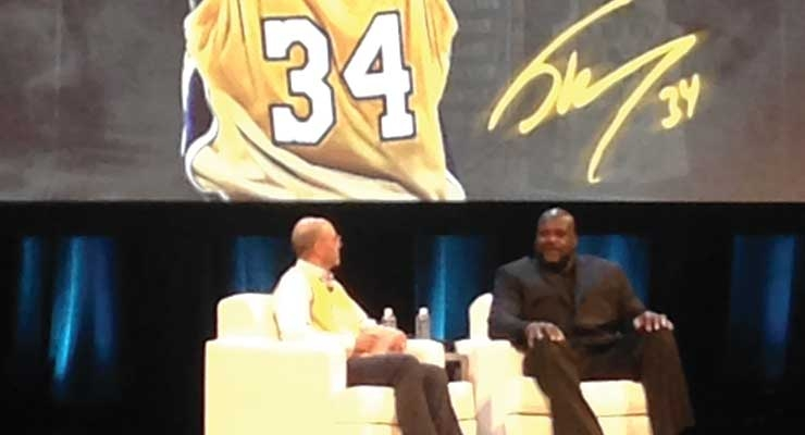 Closing out the summit was a one-on-one interview with NBA legend Shaquille O'Neal.