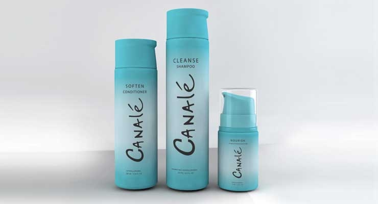 New Canalé Restorative  Hair Care collection