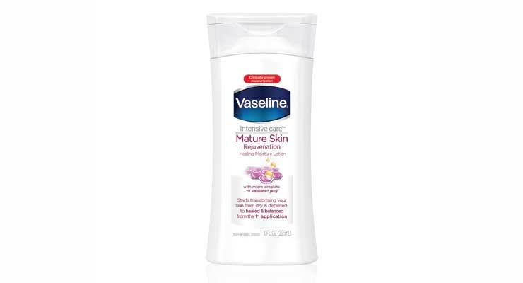Vaseline rolled out a lotion  for menopausal skin.