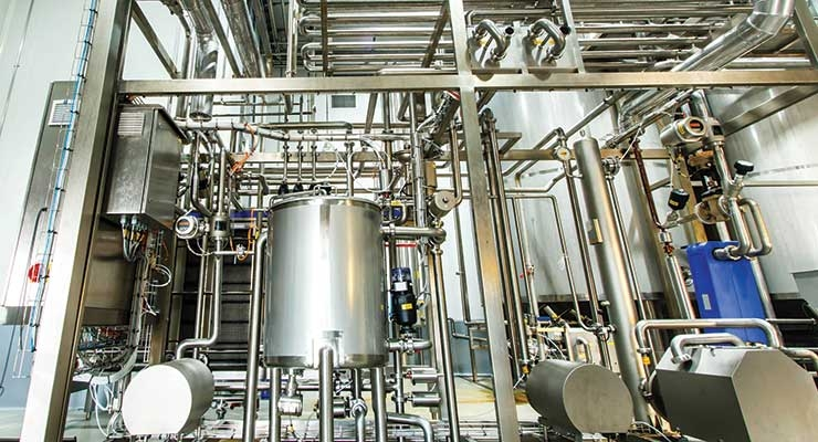 Process control is critical to avoiding microbial contamination.
