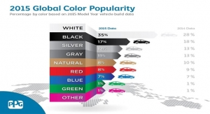 PPG 2015 Global Color Poplarity for Autmotives