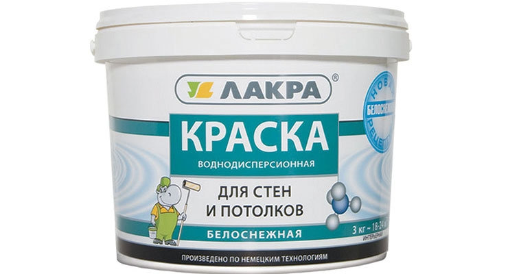 According to Russia's Coatings Producers Association, the country's water-dispersible paint in general has poor quality.
