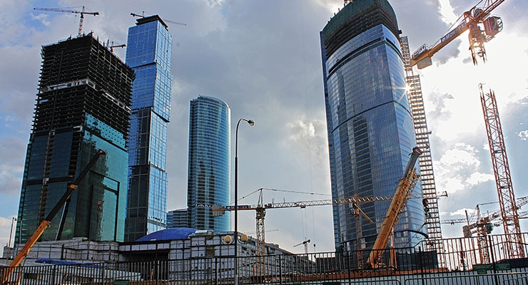 The demand for paint should be driven by the revival of the building industry in Russia.