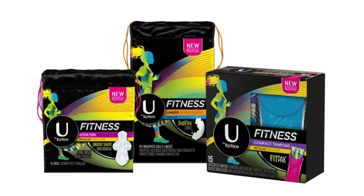 K-C Launches U by Kotex Fitness