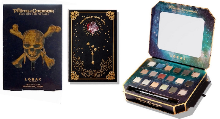 LORAC Launches a Pirate's of the Caribbean Collection