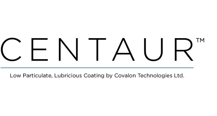 Covalon Launches Centaur Low Particulate, Lubricious Coating for Medical Devices