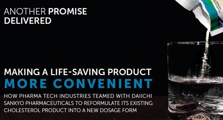 Pharma Tech Makes Life-Saving Product Easier To Digest