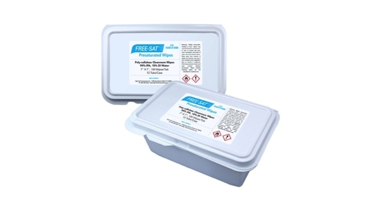 High-Tech Conversions Expands Wipes Offerings