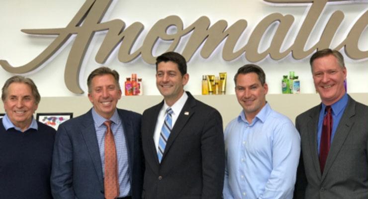 U.S. House Speaker Paul Ryan Visits Anomatic
