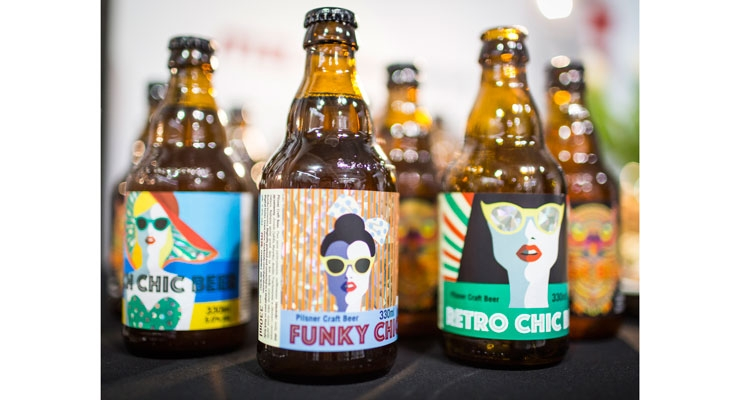 Mark Andy's digital hybrid technology can be used to print a wide array of labels, especially of the short-run variety for craft beers.