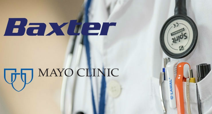 Baxter and Mayo Clinic Launch R&D Collaboration