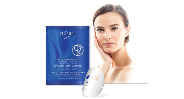 Repéchage's Triple Action Peptide Mask is big in the fast-growing mask category.