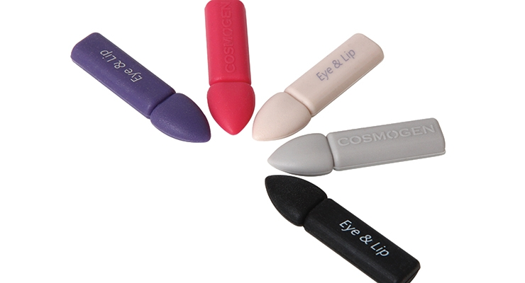 Cosmogen's mini silicone applicators are specially designed for lips and eyes.