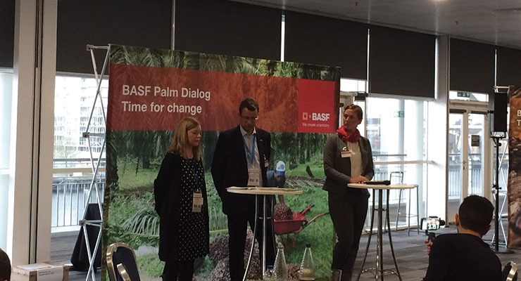 BASF took an in-depth look at the issues and opportunities surrounding  sustainable palm oil at In-Cosmetics.