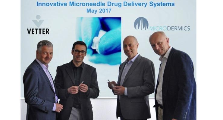 Vetter, Microdermics Enter Strategic Drug Delivery Alliance