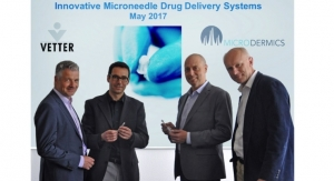 Vetter, Microdermics Enter Strategic Drug Delivery Alliance