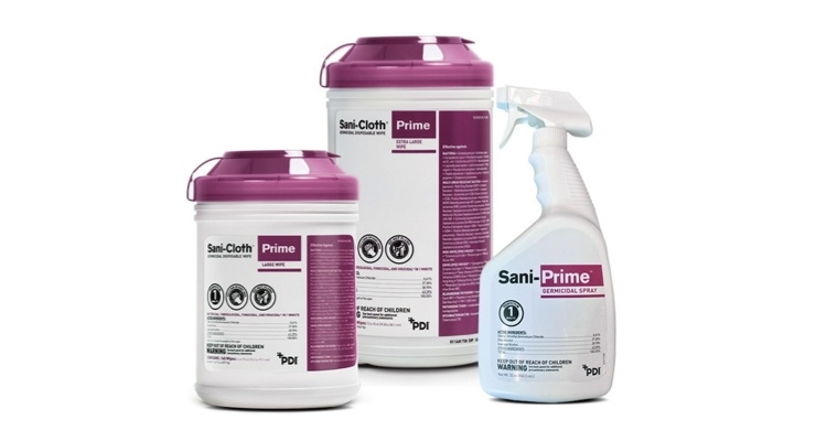 PDI Introduces Sani-Cloth Prime Germicidal Disposable Wipe