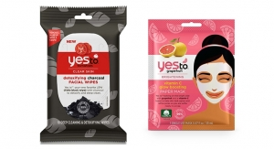 Yes To Launches Sheet Mask, Travel Wipes