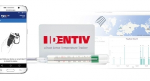 Identiv's uTrust Sense Temperature Logger Honored as Top RFID Product