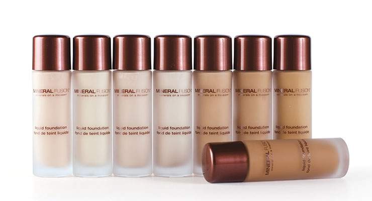 Mineral Fusion: Liquid Mineral Foundation