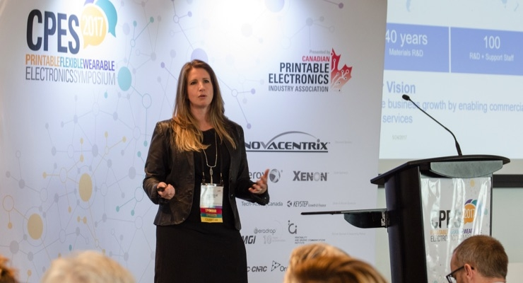 Scenes from Canadian Printable Electronics Industry Association's CPES2017