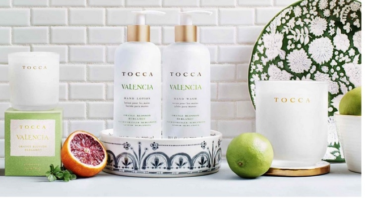 Tocca Travels the World with New Home Fragrance Collection