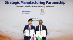 Sun Pharma & Samsung BioLogics Ink Mfg. Deal