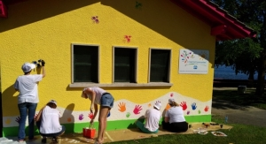 PPG Completes COLORFUL COMMUNITIES Project in Switzerland at Rolle Castle Park