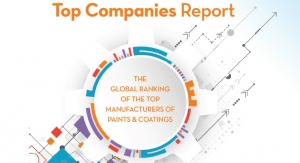 2017 Global Rankings of the TOP manufacturers of paints and coatings.