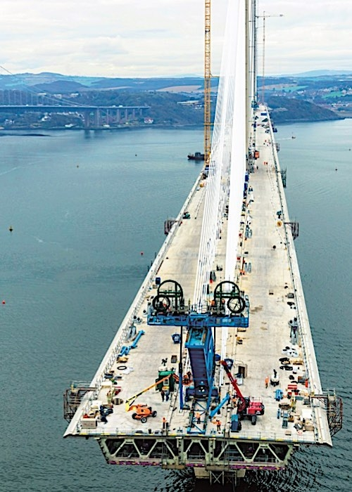 Hempel Protects Iconic Queensferry Crossing