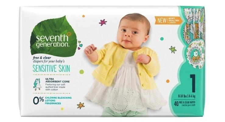 Seventh Generation Announces Diaper Donation Milestone