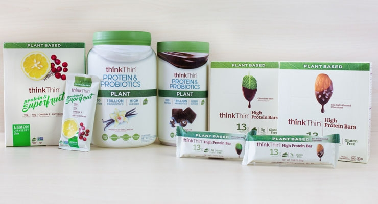 thinkThin Adds Two New Lines of Plant-Based Products