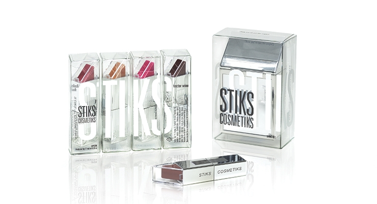 HLP Klearfold's cartons  for Stiks Cosmetiks.