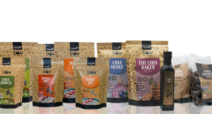 Benexia Launches Chia Food Line