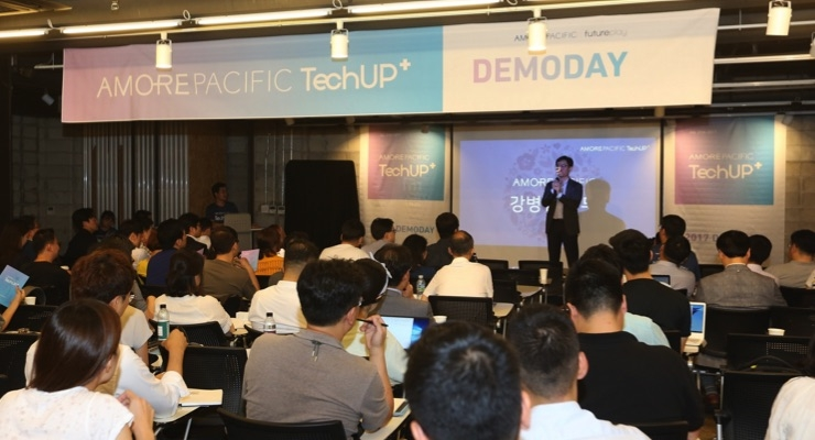 amorepacific-holds-tech-startup-demo-day