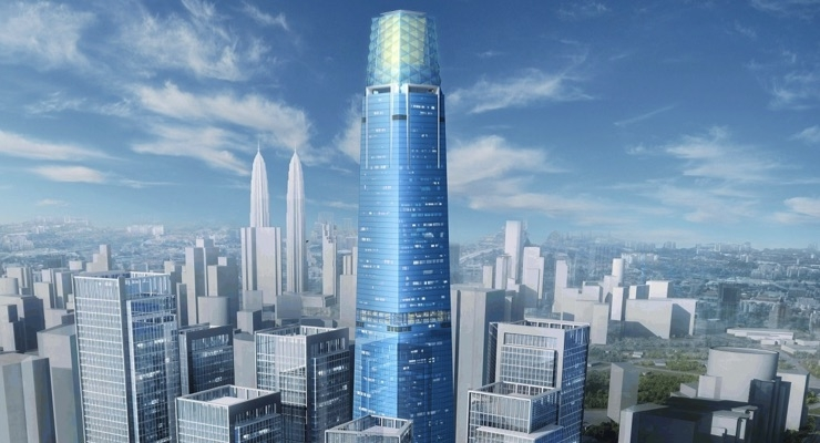 Axalta Powder Coatings Chosen to Protect Tallest Tower in Malaysia