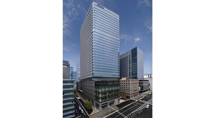 Toyo Ink's new  headquarters in Tokyo.